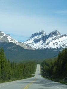 Highway Canadian Rockies Canada