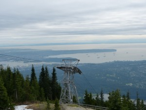 Grouse Grind view from top
