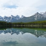 Lake Herbert at Banff National Park Canada