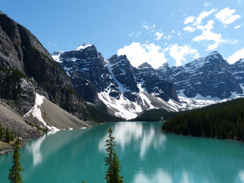 Lake Moraine-Banff National