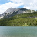 Lake scenery at Banff Canada