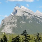 Mount Rundle at Banff National Park Canada