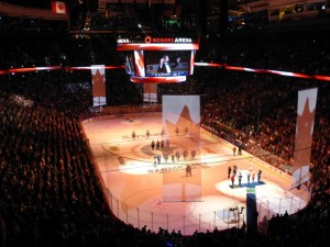 Rogers Arena Vancouver Canucks