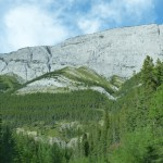 Wall at Icefields Parkway Canada