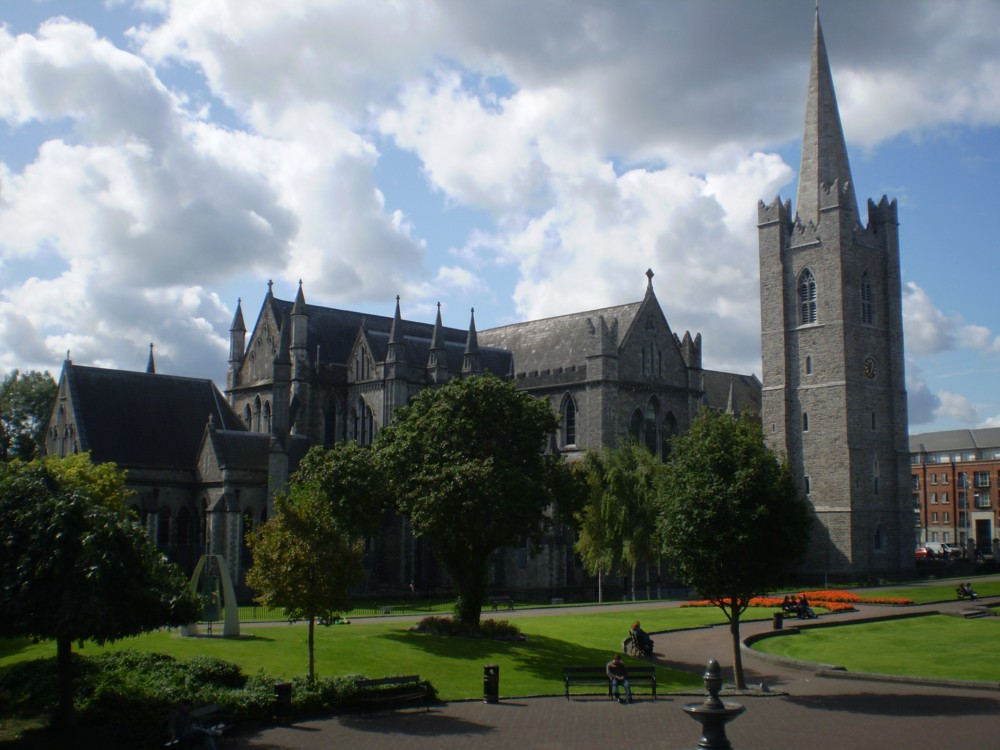St. Patrick´s Cathedral in Dublin Irland